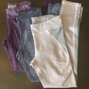Lot of 3 full length leggings